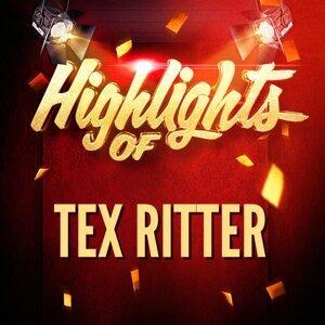 Highlights of Tex Ritter