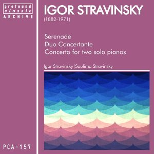 Serenade, Duo Concertante, Concerto for Two Solo Pianos