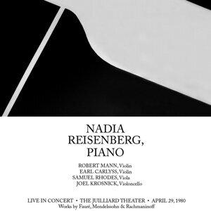 Nadia Reisenberg: Live In Concert