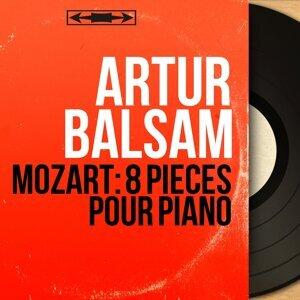 Mozart: 8 Pièces pour piano - Stereo Version
