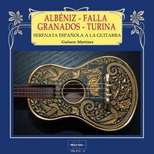 Serenata española a la guitarra: Albéniz - Granados - Falla -Turina