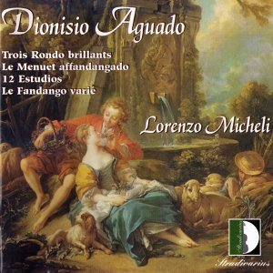 Aguado: Trois Rondo Brillants, Le Menuet Affandangado, 12 Estudios, Le fandango Variè. Guitar Collection Vol.2