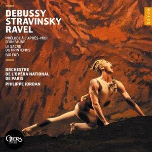 Debussy, Stravinsky, Ravel