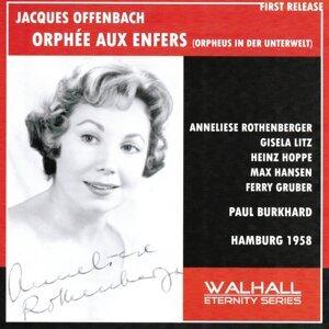 Offenbach : Orphée aux enfers - Hamburg 1958