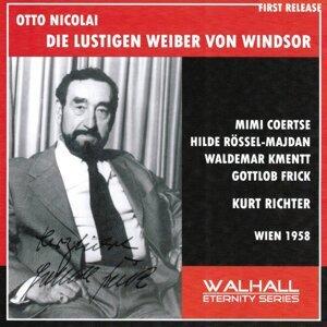 Otto Nicolai : Die Lustigen Weiber von Windsor - Wien 1958