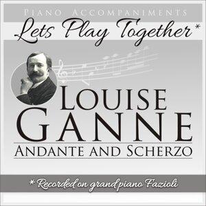 Louise Ganne: Andante and Scherzo - Piano Accompaniment