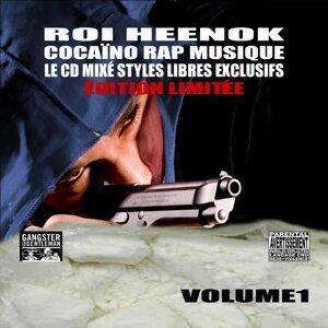 Cocaïno Rap Musique Vol.1 Cd Mixé De Styles Libres Exclusifs - ÉDITION LIMITÉE