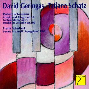 Schumann: Adagio and Allegro - Fantasiestücke - Stücke im Volkston - Schubert: Arpeggione Sonata
