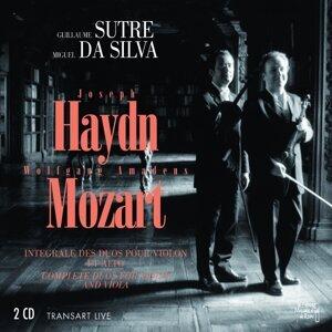 Joseph Haydn, Wolfgang Amadeus Mozart : Intégrale des duos pour violon et alto - Complete duo for violin and viola