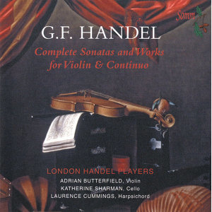 Handel: Complete Sonatas & Works for Violin and Continuo
