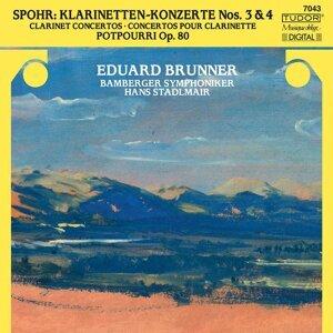 Spohr: Clarinet Concertos Nos. 3 & 4 & Potpourri, Op. 80