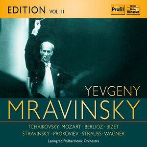 Evgeny Mravinsky Edition, Vol. 2: Tchaikovsky, Mozart, Berlioz, Stravinsky & R. Strauss