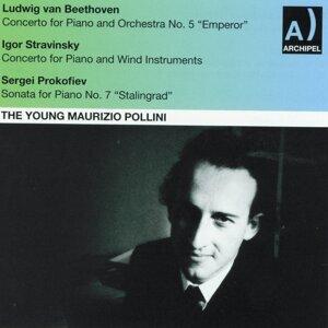 The Young Maurizio Pollini - Beethoven, Stravinsky, Prokofiev: Concertos for Piano