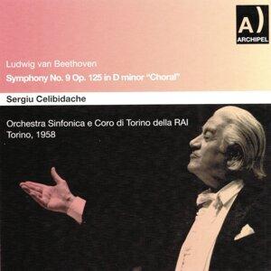 Ludwig Van Beethoven : Symphony No. 9, In D Minor, Op. 125 - Choral Par Celibidache - Torino 1958