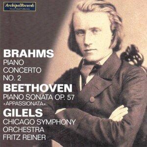 Johannes Brahms : Piano Concerto No. 2 - Ludwig Van Beethoven : Piano Sonata, Op. 57 Appassionata