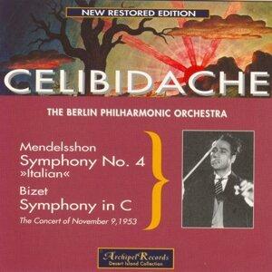 Mendelssohn: Symphony No. 4 Op.90 In A Major Italian - Bizet: Symphony in C Major - The Concert of November 9, 1953