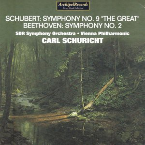 "Franz Schubert : Symphony No. 9 ""The Great"" - Ludwig Van Beethoven : Symphony No. 2"