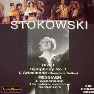 Bizet : Symphony No. 1, L'Arlesienne (Complete Suites) - Messiaen : L'Ascension