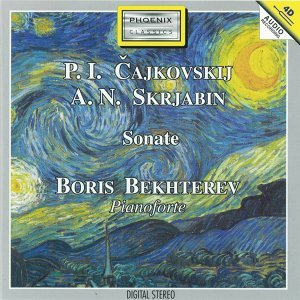 Pyotr Ilyich Ciajkovskij, Aleksandr Nikolaevic Skrjabin : Sonate