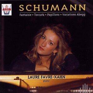 Schumann : Fantaisie, Toccata, Papillons, Variations Abegg