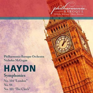 "Haydn: Symphonies Nos. 88, 101 ""Clock"" & 104 ""London"" (Live)"