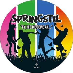 Springstil (Ey, heb die Beine an)