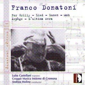 Franco Donatoni : Chamber Music 1960 - 80