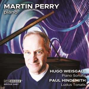 Martin Perry performs Hindemith and Weisgall