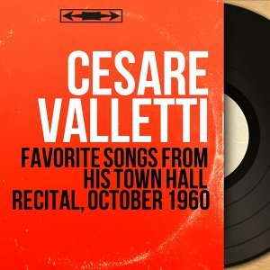 Favorite Songs from His Town Hall Recital, October 1960 - Live, Stereo Version