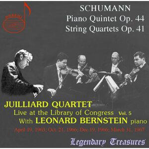 Juilliard Quartet, Vol. 5: Live at Library of Congress – Schumann with Bernstein