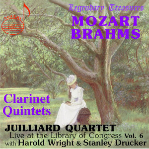 Juilliard Quartet, Vol. 6: Live at Library of Congress – Clarinet Quintets