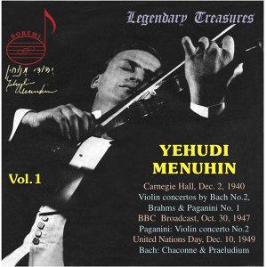 Yehudi Menuhin, Vol. 1: 1940 Carnegie Hall Concert (Live)