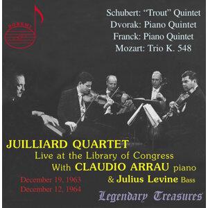 Juilliard Quartet, Vol. 1: Live at Library of Congress with Claudio Arrau