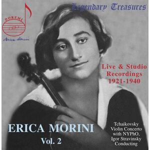 Erica Morini, Vol. 2: Stravinsky Conducts Tchaikovsky's Violin Concerto