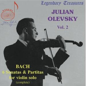 Julian Olevsky, Vol. 2: Bach Sonatas & Partitas