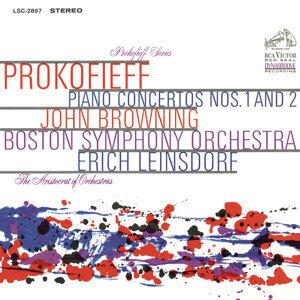 Prokofiev: Piano Concerto No.2 in G Minor, Op. 16 & Piano Concerto No. 1 in D-Flat Major, Op. 10