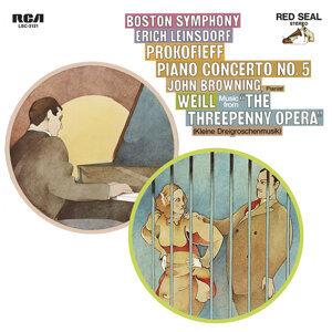 Prokofiev: Piano Concerto No.5 in G Major, Op. 55 & Weill: Kleine Dreigroschenmusik (Little Threepenny Music)