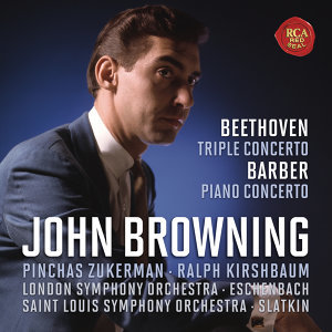 Beethoven: Concerto for Piano, Violin, Cello and Orchestra, Op.56 & Barber: Concerto for Piano and Orchestra, Op. 38