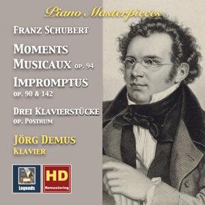 Piano Masterpieces: Franz Schubert – Moments musicaux & Impromptus