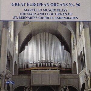 Great European Organs, Vol. 96