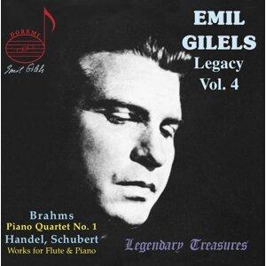 Emil Gilels Legacy, Vol. 4: Brahms Quartet, Op. 25