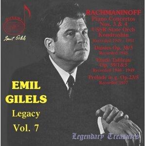 Emil Gilels Legacy, Vol. 7: Rachmaninoff