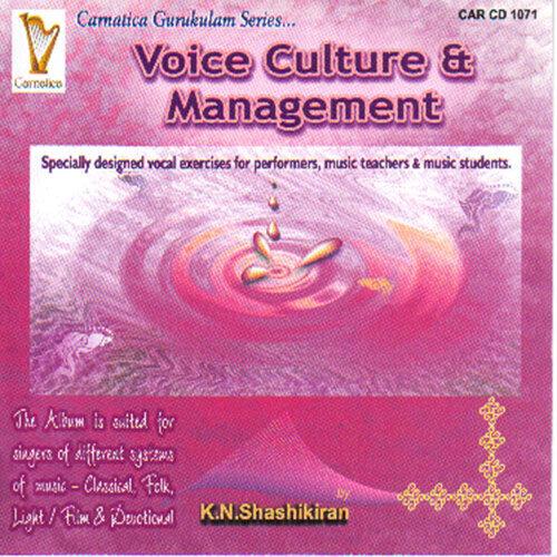 Voice Culture & Management - Tutor
