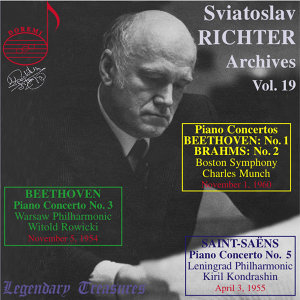 Richter Archives, Vol. 19: 1960 Boston Symphony Debut (Live)