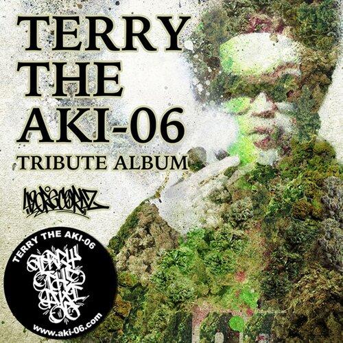 TERRY THE AKI-06 TRIBUTE ALBUM 專輯封面