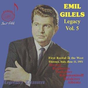 Emil Gilels Legacy, Vol. 5: 1951 Florence Recital (Live)