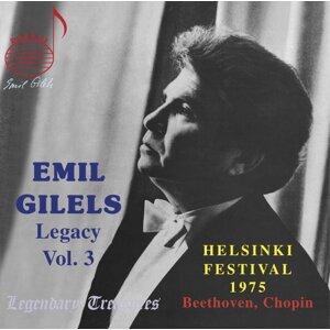 Emil Gilels Legacy, Vol. 3: 1975 Helsinki Recital (Live)
