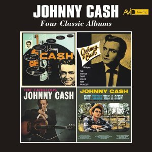 Four Classic Albums (with His Hot and Blue Guitar / Johnny Cash Sings the Songs That Made Him Famous / The Fabulous Johnny Cash / Now, There Was a Song) [Remastered]