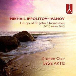 Mikhail Ippolitov-Ivanov (1859-1935) Liturgy of St. John Chrysostom, Op.37; Vespers, Op.43