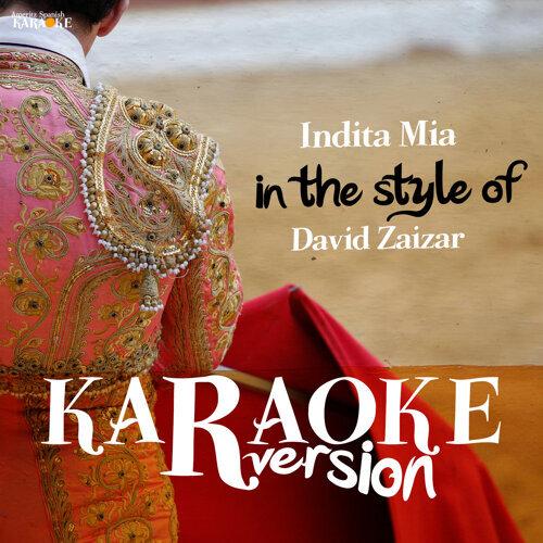 Ameritz Spanish Karaoke - Indita Mia (In the Style of David